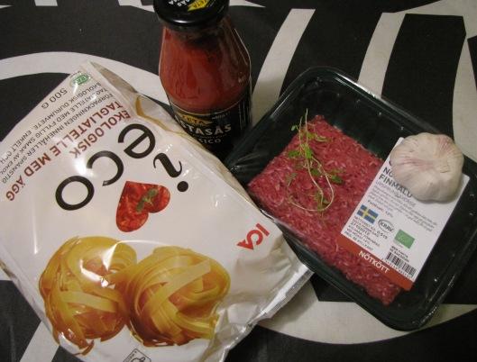 spaghetti o köttfärssås