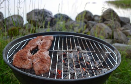 grillad biff med pepparrub