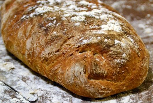 lantbröd m skållat mjöl
