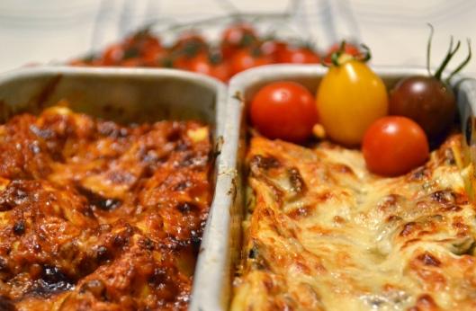 lasagne m linser svamp o kvarg