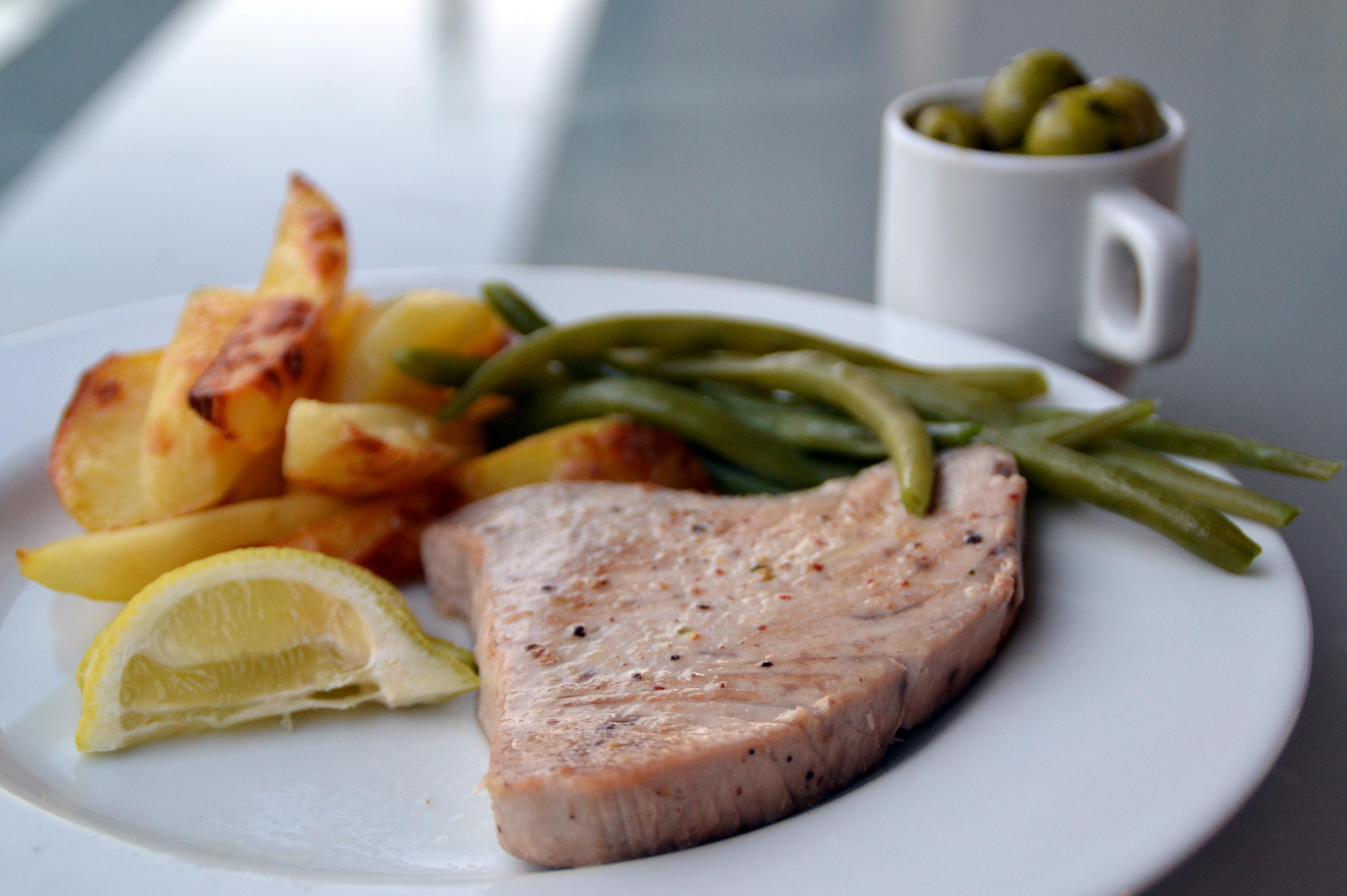 sås till stekt tonfisk