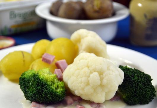 Skinksås m broccoli & blomkål